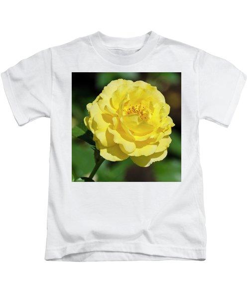 Striking In Yellow Kids T-Shirt