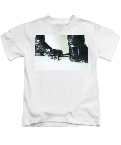 Studio. Boots And Boot Pull. Kids T-Shirt