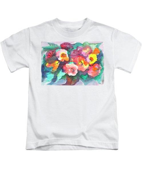Summer Bouquet Kids T-Shirt