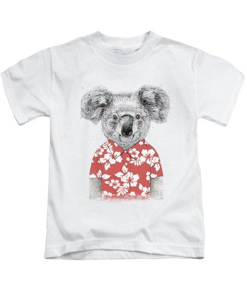 Summer Koala Kids T-Shirt