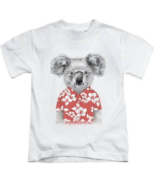 Summer Koala Kids T-Shirt