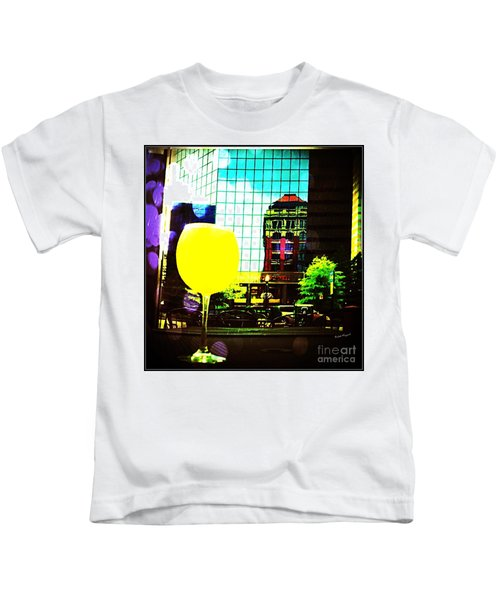 Summertime Downtown Lexington  Kids T-Shirt