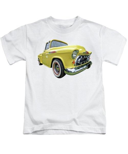 Sunshine Yellow Chevy Kids T-Shirt