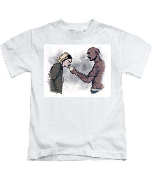 Teenage Angst Kids T-Shirt
