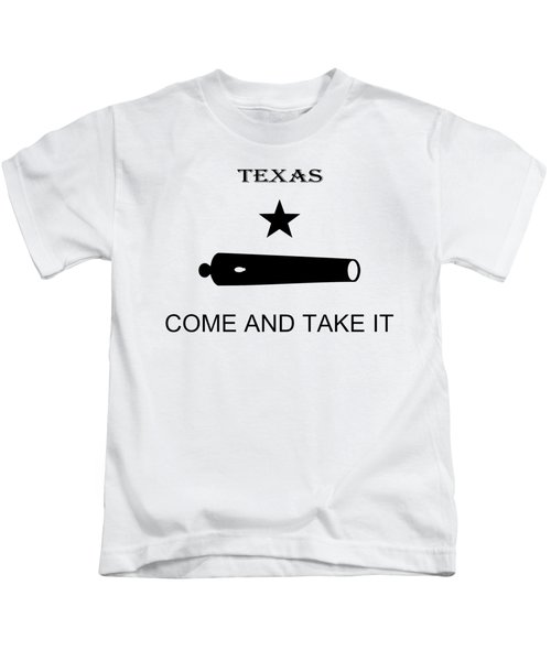 Texas Come And Take It Flag 1835 - T-shirt Kids T-Shirt