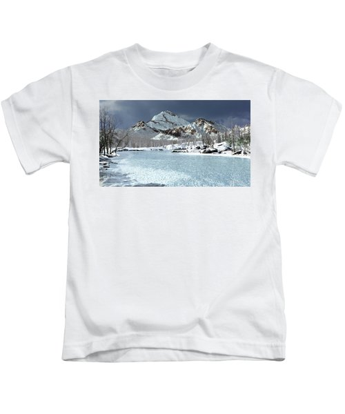The Courtship Of Ice Kids T-Shirt