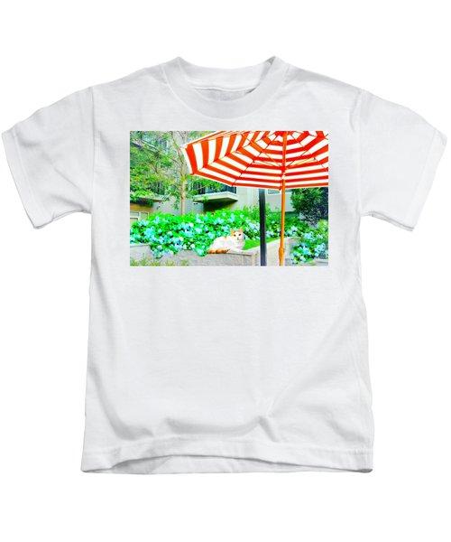 The Courtyard Tabby Kids T-Shirt