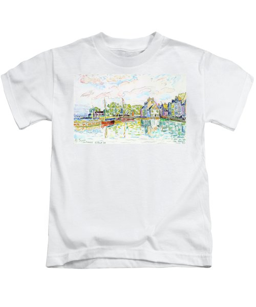 The Croisic, 1928 - Digital Remastered Edition Kids T-Shirt