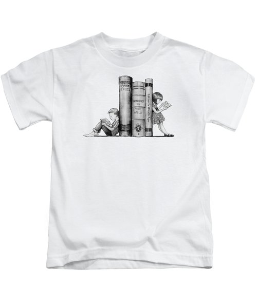 The Joy Of Reading Kids T-Shirt