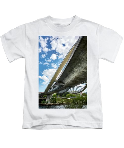 The Millennium Bridge From Below Kids T-Shirt