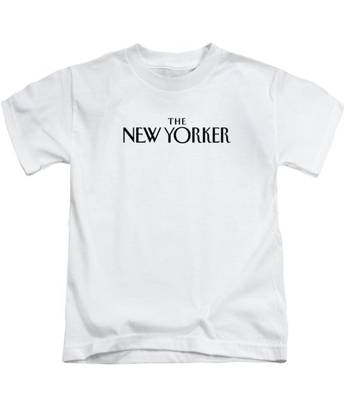 The New Yorker Logo Kids T-Shirt