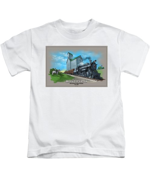 The Ross Elevator Sentinel Of The Plains Kids T-Shirt