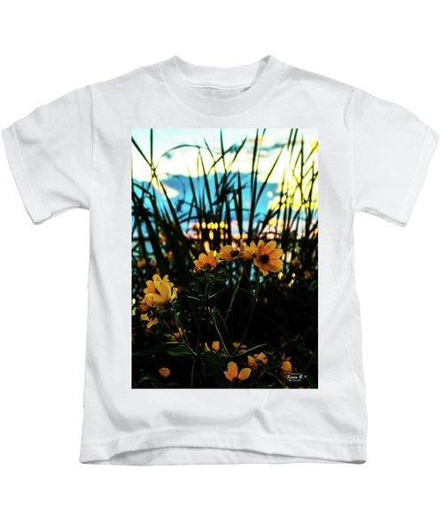 The Sunflower's Sunset Kids T-Shirt