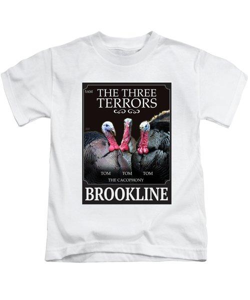 The Three Terrors Kids T-Shirt