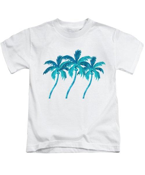 Three Coconut Palm Trees Kids T-Shirt