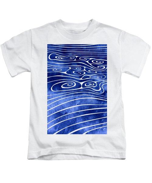 Tide Xvi Kids T-Shirt