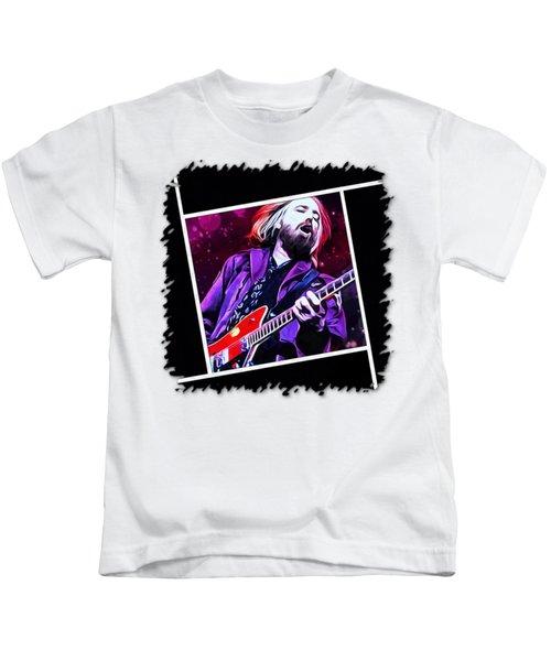 Tom Petty Painting Kids T-Shirt