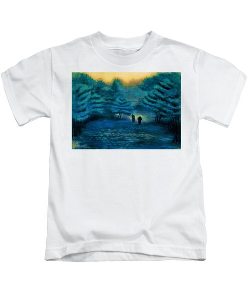 Top Quality Art - Treading Barley Kids T-Shirt