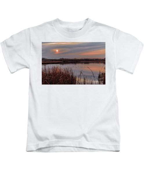 Tranquil Sunset Kids T-Shirt