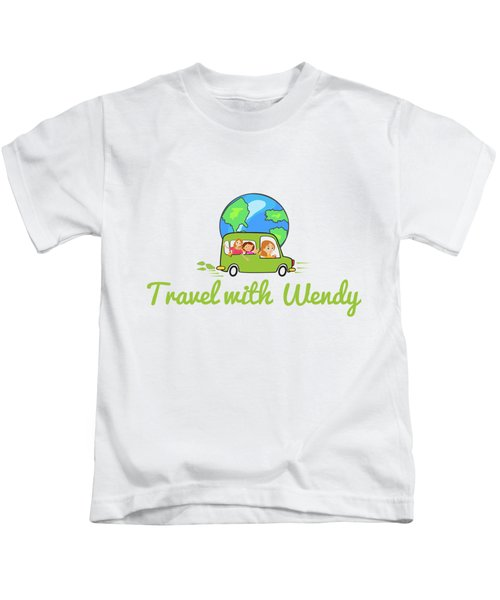 Travel With Wendy Kids T-Shirt