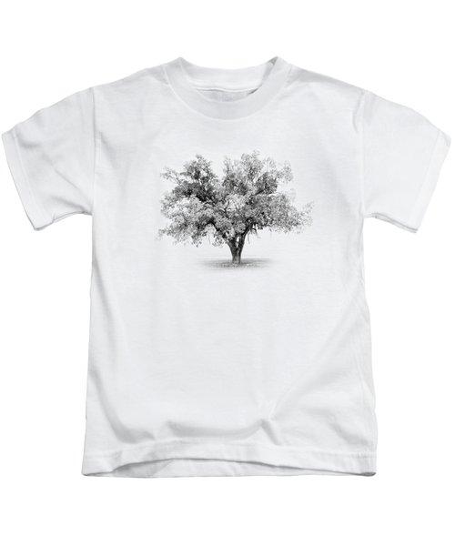 Tree In Monochrome Kids T-Shirt