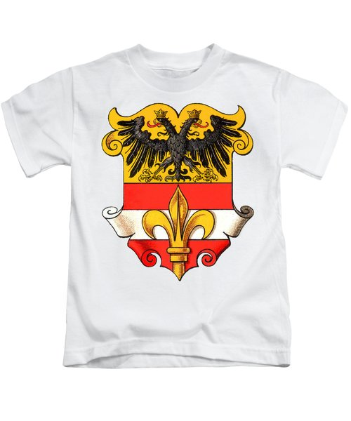Triest Coat Of Arms 1467-1919 Kids T-Shirt