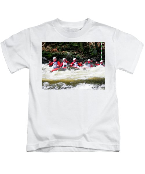Triple Crown-21 Kids T-Shirt
