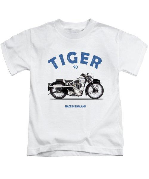 Triumph Tiger 90 Kids T-Shirt