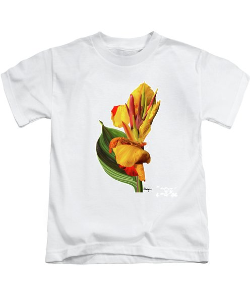 Tropical Bouquet-flower One Kids T-Shirt
