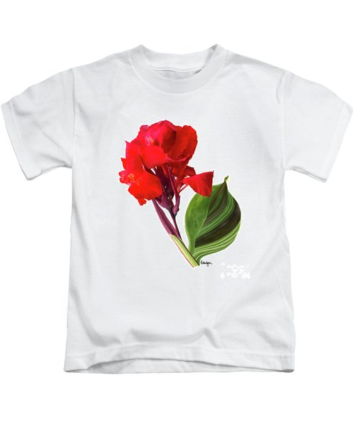 Tropical Bouquet-flower Three Kids T-Shirt