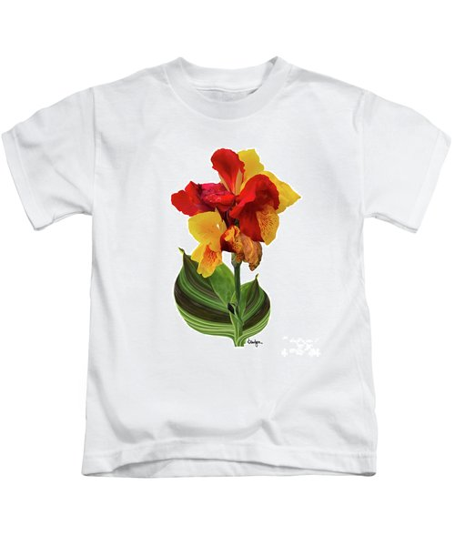 Tropical Bouquet-flower Two Kids T-Shirt