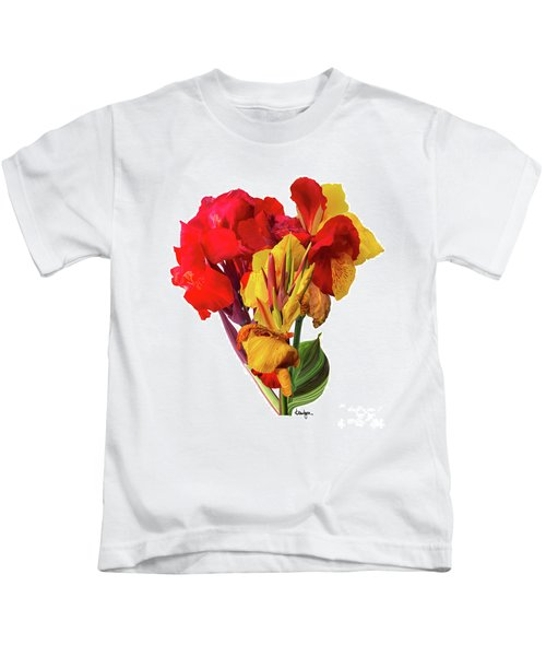 Tropical Bouquet Kids T-Shirt
