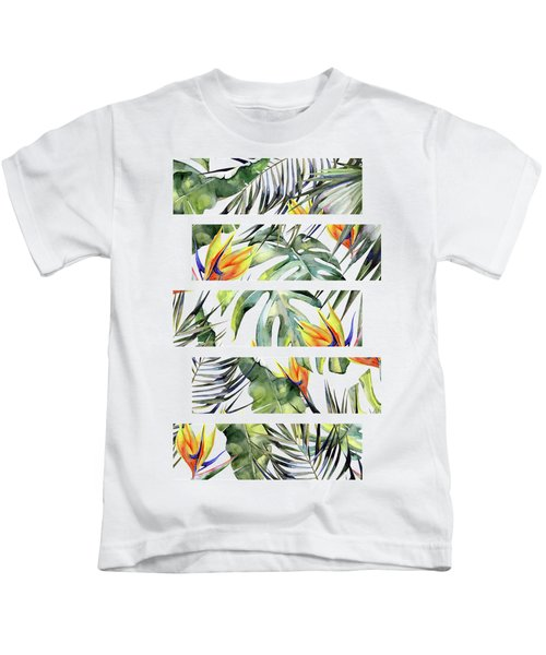Tropical Garden Kids T-Shirt