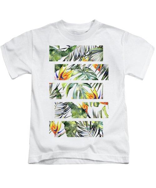 Tropical Garden Kids T-Shirt