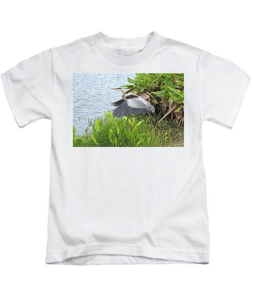 True Blue #1 Kids T-Shirt