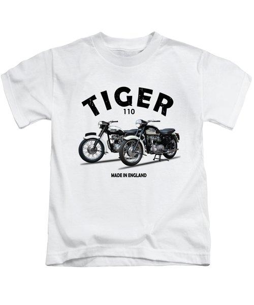 Two Triumph Tigers Kids T-Shirt