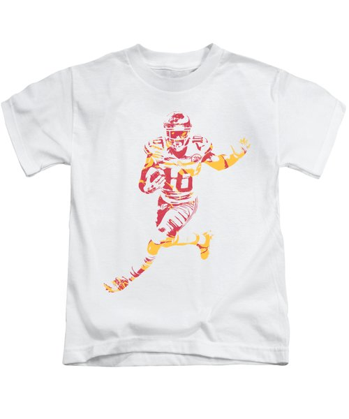 Tyreek Hill Kansas City Chiefs Apparel T Shirt Pixel Art 1 Kids T-Shirt