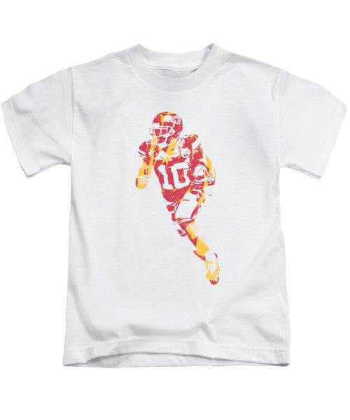 Tyreek Hill Kansas City Chiefs Apparel T Shirt Pixel Art 2 Kids T-Shirt