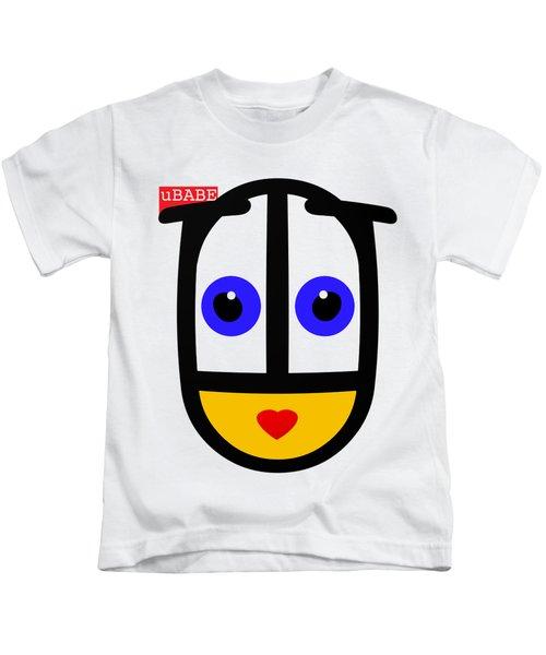 uBABE Face Kids T-Shirt