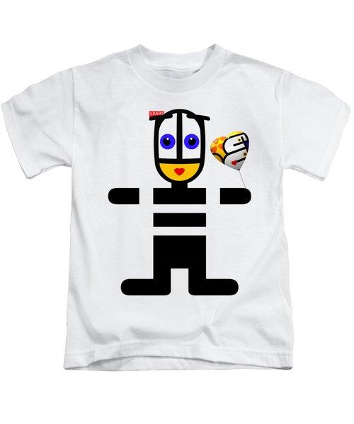 uBABE Love Balloon Kids T-Shirt
