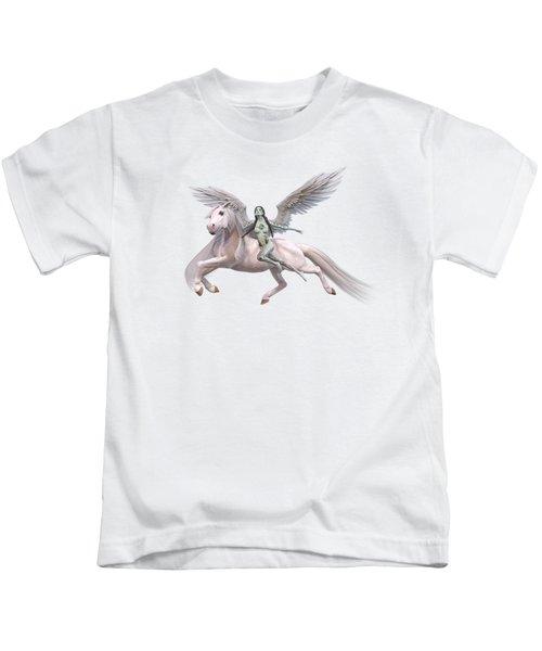 Valkyrie Angel Kids T-Shirt