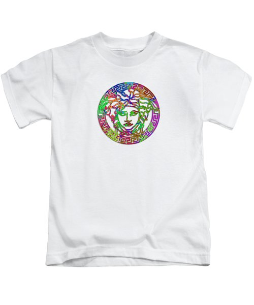 Versace Paint Design Kids T-Shirt