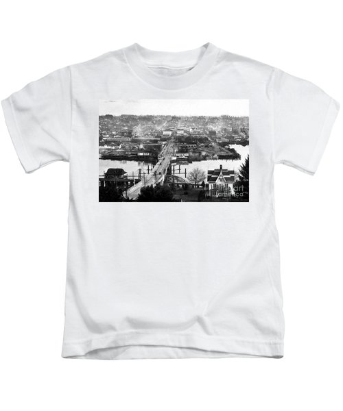 View East Over Olympia 1921 Kids T-Shirt