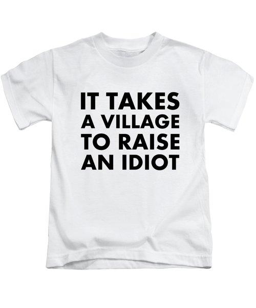 Village Idiot Bk Kids T-Shirt