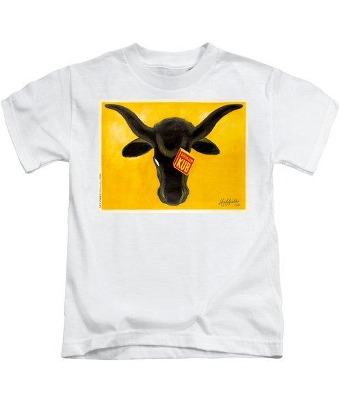 Vintage Poster - Bouillon Kub Kids T-Shirt