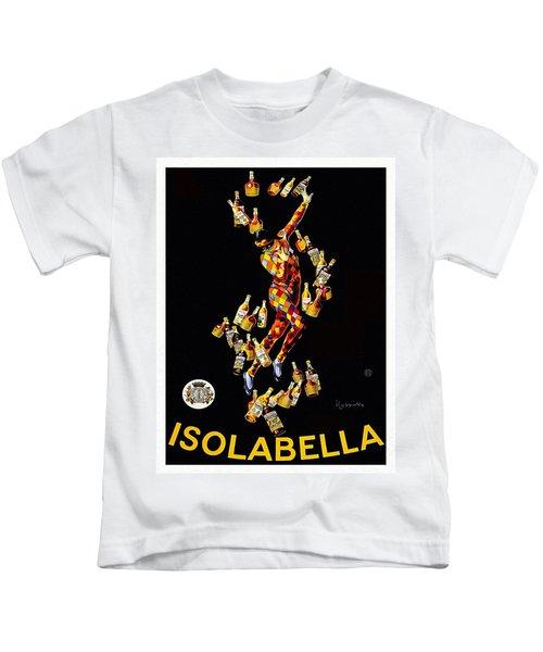 Vintage Poster - Isolabella Kids T-Shirt