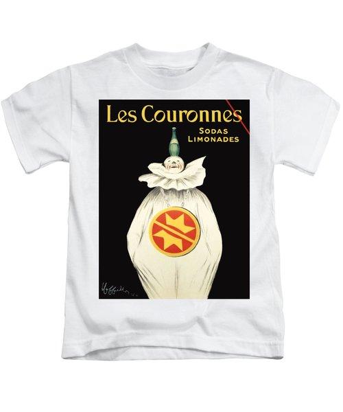 Vintage Poster - Les Couronnes Kids T-Shirt