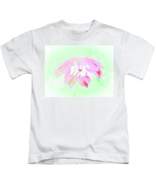 Violet Red Islamic Flora Kids T-Shirt