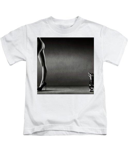 Walking The Wild Side Kids T-Shirt