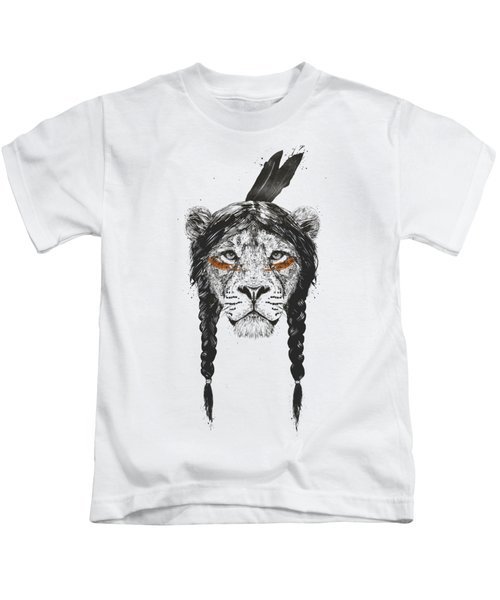 Warrior Lion Kids T-Shirt